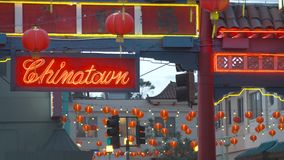 Chinatown Neon Royalty Free Stock Photos