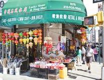 Chinatown in New York stock afbeeldingen