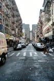Chinatown, New York City. Street scene in Chinatown, Manhattan, New York City, USA royalty free stock images