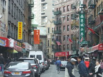 Chinatown in New York City Stock Images