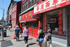 Chinatown, New York Royalty Free Stock Photography