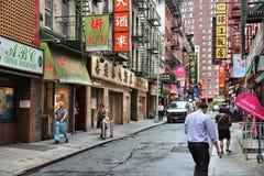 Chinatown, New York Royalty Free Stock Image