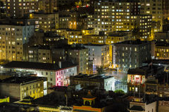 Chinatown Night San Francisco Royalty Free Stock Photos