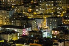 Chinatown Night San Francisco Royalty Free Stock Photos