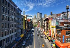 Chinatown NYC Images libres de droits