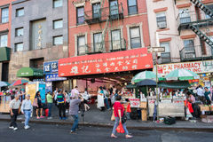 Chinatown in NYC Fotografia Stock