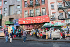 Chinatown in NYC Lizenzfreie Stockfotos