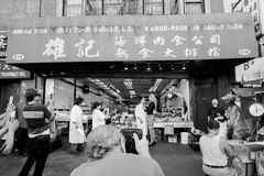 Chinatown in NYC Lizenzfreie Stockfotografie