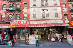 Chinatown in NYC Lizenzfreies Stockbild