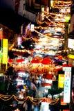 Chinatown o conosciuto come via di Petaling Fotografia Stock Libera da Diritti