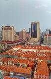 Chinatown, orizzonte di Singapore Immagine Stock Libera da Diritti