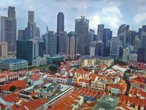 Chinatown, orizzonte di Singapore Fotografia Stock