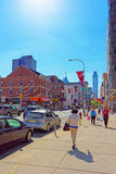 Chinatown in Philadelphia in PA Stock Photography