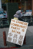 Chinatown Protester Stock Images