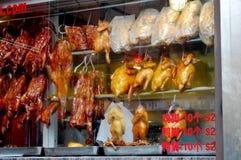Chinatown Restaurant Window Royalty Free Stock Photo