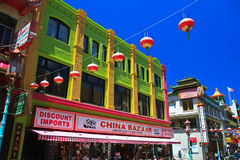 Chinatown, San Francisco Royalty Free Stock Photo