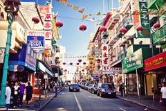 Chinatown in San Francisco stockbild