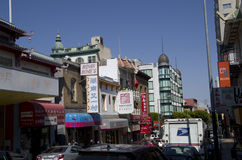 Chinatown San Francisco Arkivfoton
