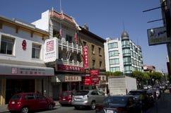 Chinatown San Francisco Arkivbild