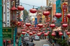 Chinatown, San Francisco, CA стоковое фото
