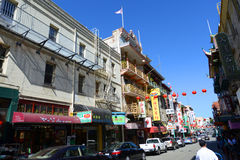Chinatown in San Francisco, California Royalty Free Stock Image