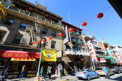 Chinatown in San Francisco, California Stock Photography