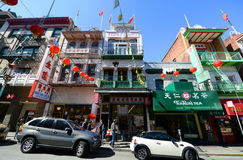 Chinatown in San Francisco, California Royalty Free Stock Images