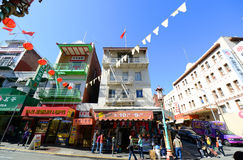 Chinatown in San Francisco, California Royalty Free Stock Photo