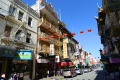 Chinatown in San Francisco, California Stock Images