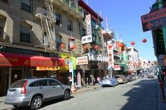 Chinatown in San Francisco, California Stock Photos