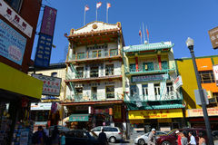 Chinatown in San Francisco, California Royalty Free Stock Photos
