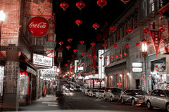Chinatown San Francisco after Hours Stock Photography