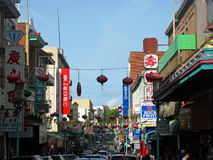 Chinatown in San Francisco Royalty Free Stock Photo