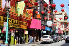 Chinatown, San Francisco Stock Images