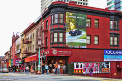 Chinatown in San Francisco Royalty Free Stock Images