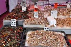 Chinatown seafood Stock Photo