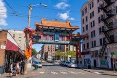 Chinatown Seattle Stock Photography