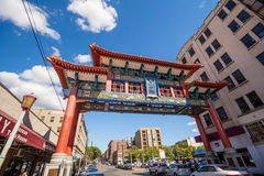 Chinatown Seattle Royalty Free Stock Photos