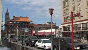 Chinatown Seattle, Stati Uniti video d archivio