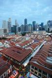 chinatown singapore Стоковое Изображение RF