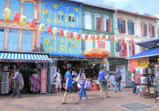 chinatown Singapore Fotografia Royalty Free