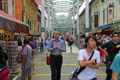 Chinatown in Singapore Royalty-vrije Stock Afbeelding
