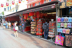 chinatown singapore стоковое фото