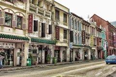 chinatown singapore Стоковая Фотография RF