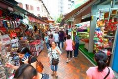 chinatown singapore arkivbilder