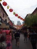 Chinatown, Singapore Stock Afbeelding