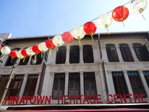 Chinatown Singapore Fotografia de Stock Royalty Free