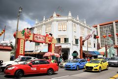 chinatown singapore Royaltyfri Bild