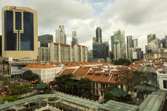 chinatown singapore Arkivfoton