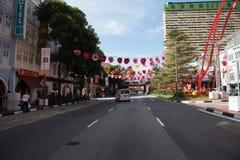 chinatown singapore Arkivbild